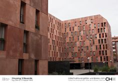 [Collective Housing Atlas] Housing Villaverde by David Chipperfield David Chipperfield Architects, Living Room Divider, Madrid, Multi Story Building, Exterior, Architecture, Wood, House, Atlas
