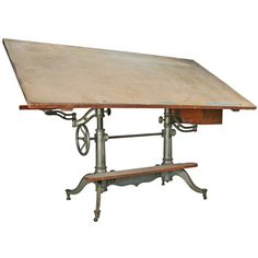 Ideas On Pinterest Drafting Tables Industrial Tables And