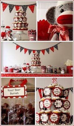 Ohmygosh. I think I just died a little of cuteness. This would be adorable for Ryker's 1st birthday!