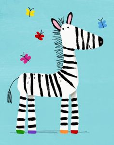 Zebra - cally jane studio
