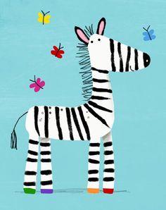 Zebra - cally jane studio