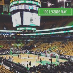 at all those empty seats! didn't stop us though lets go Celtics! #thegarden #bostonceltics #tmbusinesssolutions