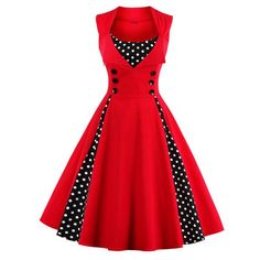 New 50s 60s Retro Vintage Dress