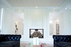 20 Ways Leanne Ford Got Creative with White House, White Picture, Interior, White Ceiling, White Fireplace, White Wash, Home Decor, Restoration, White