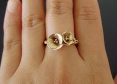 I get why this is expensive ... but it's soooooo pretty!    Golden Poppies in Rose Gold by jennykim, $935.00