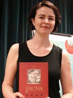 "Alissa York author of ""Fauna""."