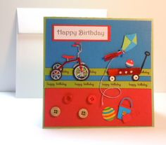 B'day card for boys...or girls!