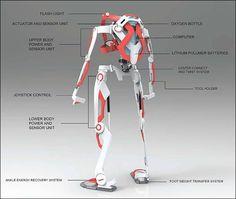 無敵の消防士を生み出すパワードスーツ「A.F.A.」のコンセプトデザイン - DNA
