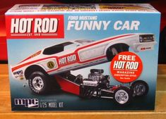 mpc hot rod ford mustang funy car
