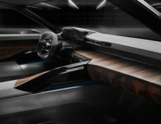 Peugeot Exalt Concept Interior
