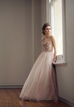 Stunning Jennifer Gifford Designs - Bridal/Wedding Gown - Adele www.jennifergifforddesigns.com