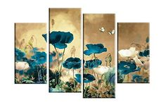 Grepova Art - 100% Hand-painted 4 Panel Modern Landscape ... https://www.amazon.com/dp/B01FH11EAQ/ref=cm_sw_r_pi_awdb_x_.BVAybPE30CF4