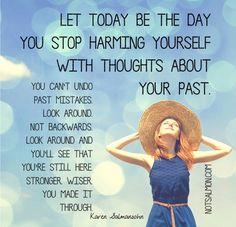 Look around & step forward