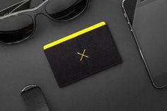 Black Slim Wallet from Supr Good Co