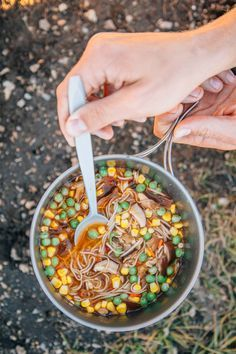 Ditch the Top Ramen on your next backpacking trip - this homemade soba noodle…