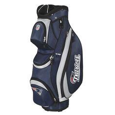 Wilson NFL Cart Golf Bag - New England Patriots 0457b0af1