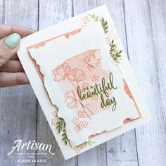 Crafty Little Peach: Share What You Love - Stampin' Up! Artisan Blog Hop