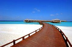 The Beach House at Manafaru a 83-villas resort on the islet of Manafaru.