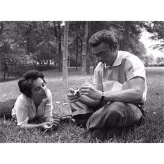 Elizabeth Taylor forged a close bond with James Dean. Some nights they would sit up late as he vented his frustrations with his life as an actor, the restrictions of Hollywood life and past traumas. Unlike Rock Hudson, however, he rarely acknowledged their closeness on set, often ignoring her completely after a night of baring his soul to her. ~