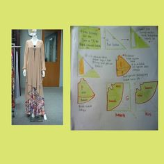 Kebaya cardigan, 2 layer