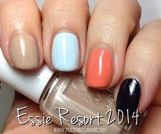 Essie Resort Fling Collection (Resort 2014)