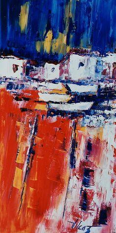 Couleurs Catalanes, 32inx16in (81cmx41cm), at Westport River Gallery