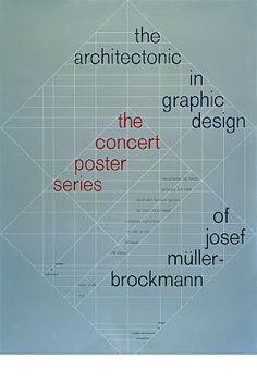 The concert poster series of Josef Muller Brockman