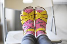 robot-heart: Socks and Sandals (by Sarah McNeil)