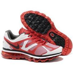 http://www.asneakers4u.com/ Men s newest nike air max 2012 red white black