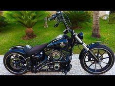 Custom Harley Davidson Breakout Ape Hanger (Rennel from Brazil) #harleydavidsonbreakoutape #harleydavidsonchoppersapehangers #harelydavidsonbreakout