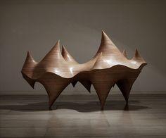 Cha Jongrye - Expose Exposed 110227, Wood, 2011
