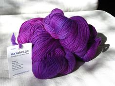 One of my very favorite yarns to knit - makes the lovliest shawls - comes in hundreds (well, almost) of colors!