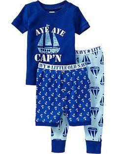 Boys Graphic PJ Sets | Old Navy