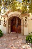 Gate in Carefree AZ