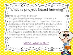 Project based learning in primary grades