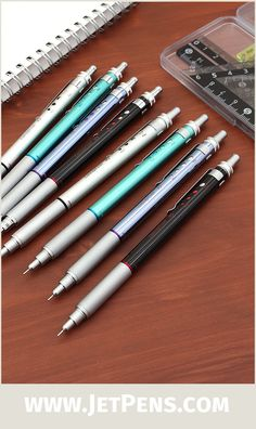 The innovative Ohto Conception Mechanical Pencil allows you to configure the amount of lead extended with each click.