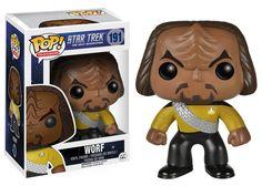 Star Trek The Next Generation Funko POP Vinyl Figure Worf