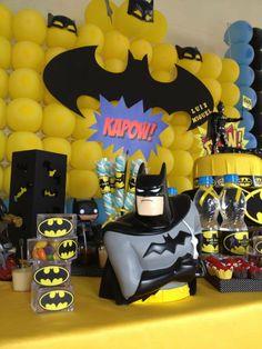 Decorando com o Batman