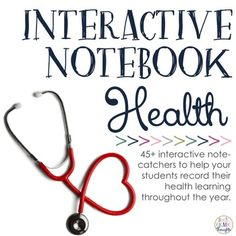 Interactive Health Notebook by Grade Thoughts Health Activities, Interactive Activities, Interactive Notebooks, 3rd Grade Thoughts, Health Words, Whole Brain Teaching, Health Symbol, Positive Self Talk, Behaviour Management
