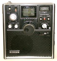 Shortwave Receivers Sony ICF-5800 L