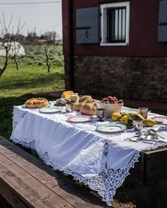 I can't think of a lovelier way to celebrate my birthday than with a picnic. Views out over the open lagoon and sitting under dappled shade in a dreamy vineyard on the island of Sant'Erasmo. Torta pasqualina, hard boiled eggs with anchovies (it's not a proper picnic without eggs), saffron infused pecorino cheese, freshly baked bread and more strawberries than I could possibly eat. Grazie @bellinitravel, @mariashollenbarger and @romilly_mca for a magical day!! Xx #ladolcevita #secretvenice