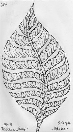 LuAnn Kessi: Sketch Book.....Leaf Designs 5 ~ YOUR PEN IS THE NEEDLE...YOUR PAPER IS THE QUILT.
