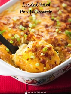 Loaded baked potato casserole #recipe