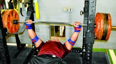 The powerlifting giant gives you the ultimate plan to blow up your bench.