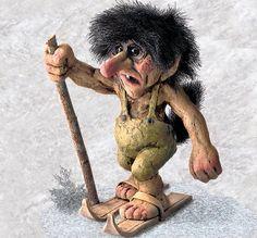 Skiing troll :)
