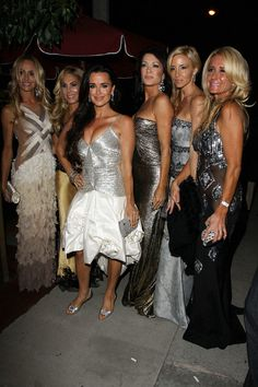 Kyle Richards Kim Richards Photos: 'The Real Housewives of Beverly Hills' Party in Hollywood