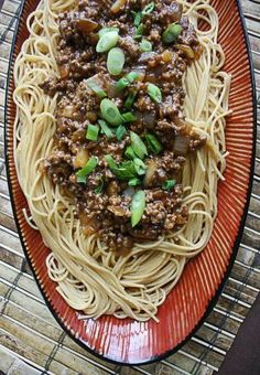FINALLY - something different to make with ground beef! This Szechuan Beef Pasta is SO GOOD - one of our most popular recipes. You're going to LOVE this one!!