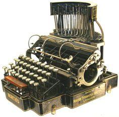 North's Typewriter serial# 2136 - www.remix-numerisation.fr