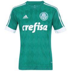 Camisa do Palmeiras I 2015 adidas Camisetas Do Palmeiras 6066449d56d1d