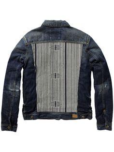 Denim trucker jacket   Blazers   Men's Clothing at Scotch & Soda
